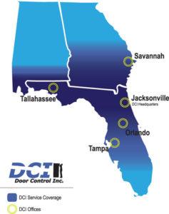 DCI Service Coverage