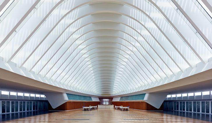Polytechnic University, Santiago Calatrava, architect. Photo from www.inhabitat.com